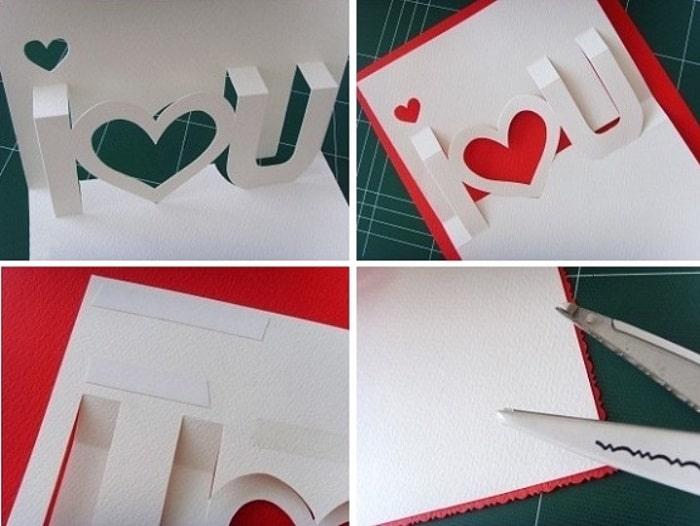 làm thiệp sinh nhật handmade dễ thương tặng người yêu 10
