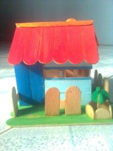 Mô hình ngôi nhà handmade