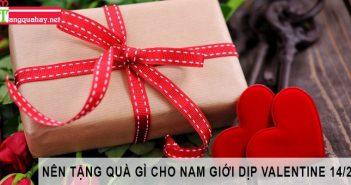 tặng quà gì cho nam giới trong valentine