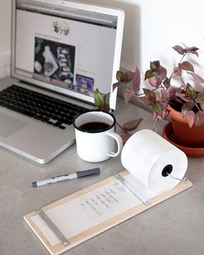 Cách tự làm giấy nhớ hình quả táo cực xinh cực dễ 9