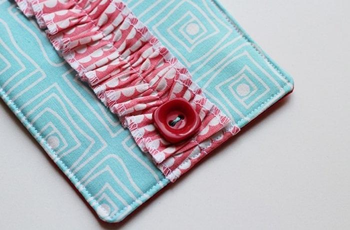 2 Cách làm ví cầm tay handmade ấn tượng11