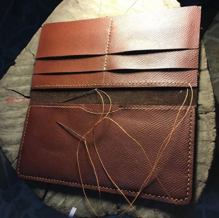 2 Cách làm ví cầm tay handmade ấn tượng5