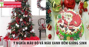 Màu đỏ và xanh lá thường thấy trong mùa Giáng Sinh có ý nghĩa gì?