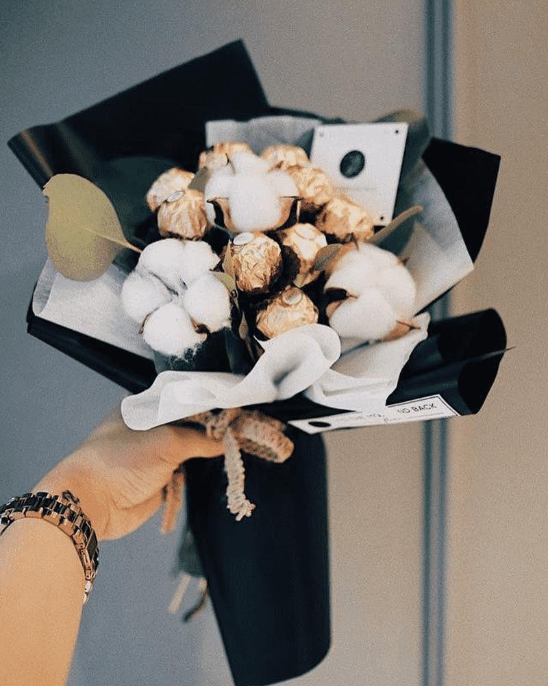 Bó hoa socola độc đáo ngày Valentine 14/2