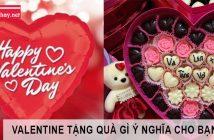 Nên tặng bạn gái quà gì trong ngày Valentine