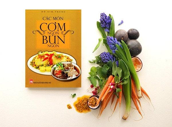 Một cuốn sách nấu ăn sẽ phù hợp với các bà nội trợ