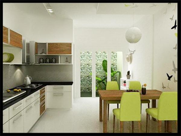 trang trí phòng bếp đẹp đơn giản 1