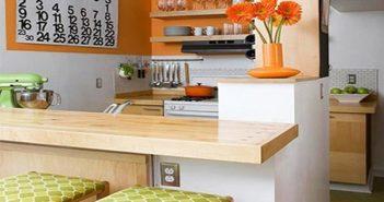 trang trí phòng bếp đẹp đơn giản