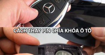 Hướng dẫn cách thay pin chìa khóa ô tô bạn nên biết