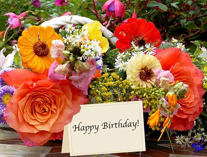 Hoa tươi dùng để tặng sinh nhật