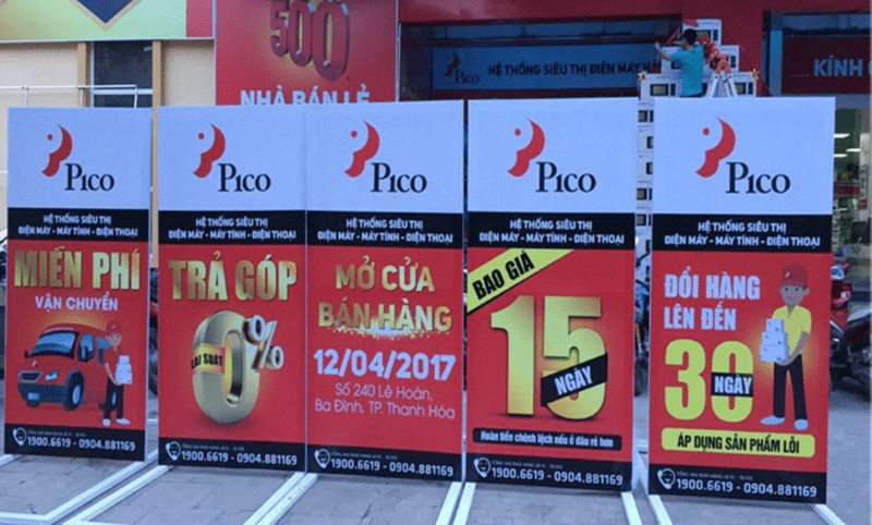 Ứng dụng giấy decal in bạt quảng cáo