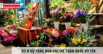 Dịch vụ tặng hoa online toàn quốc uy tín