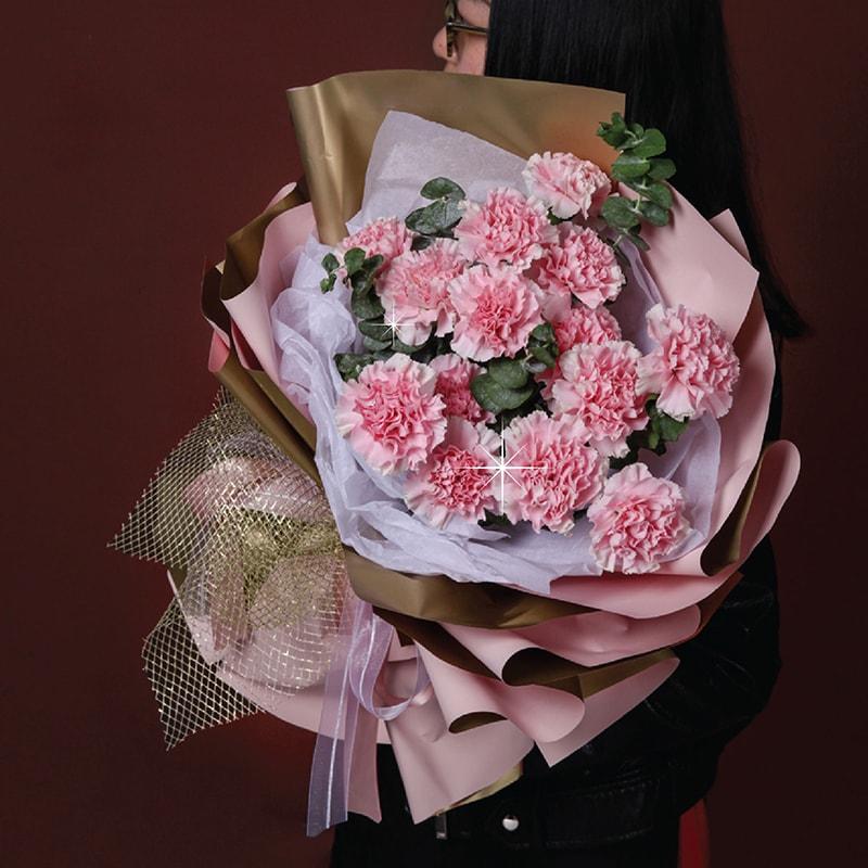 Hoa cẩm chướng hồng tặng mẹ nhân ngày 20/10