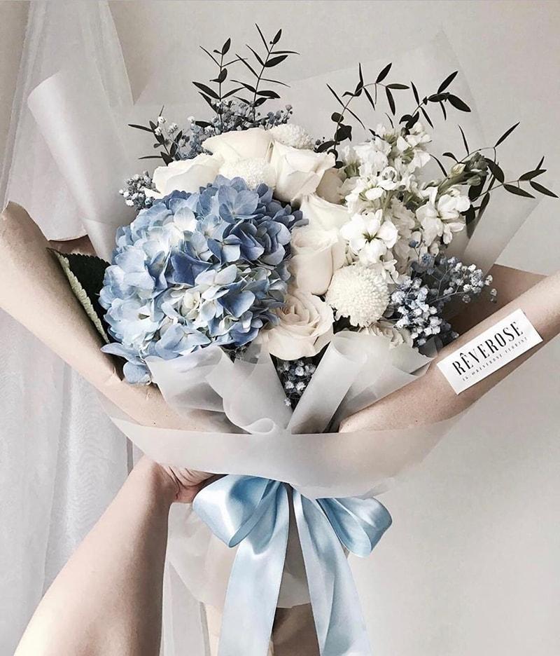 Hoa cẩm tú cầu tặng mẹ nhân ngày 20/10